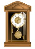 Pendulum clock Stock Photos