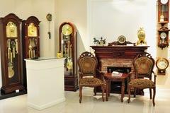 Pendulum clock shop Royalty Free Stock Photo