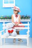 Pendulum formative girl Royalty Free Stock Photos