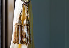 Pendulum gold thread. Stock Images