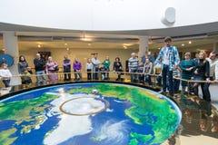 Pendulum at Moscow Planetarium, Russia Stock Image