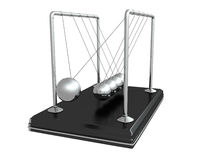 Pendulum on white background. 3d Stock Images