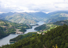 Peneda Geres national park in Norte region, Portugal Royalty Free Stock Photography