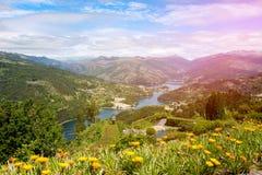 Peneda Geres, Northern Portugal. Beautiful Landscape at Peneda Geres, Northern Portugal stock images