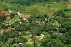Penedo district in Brazil Royalty Free Stock Photos