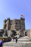 Penedono Castle, Medieval European Architecture. Penedono Castle was built on the 14th Century by a portuguese Lord. The National Monument as a uncommon Stock Image