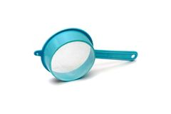 Peneira azul Imagem de Stock
