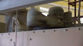 Peneira industrial da farinha video estoque
