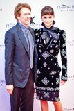 Penelope Cruz and Jerry Bruckheimer Stock Images