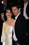 Penelope Cruz,Tom Cruise Stock Photos
