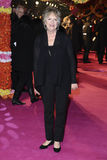 Penelope Wilton. Arrives for th arriving for the premiere of The Best Exotic Marigold Hotel at the Curzon Mayfair cinema, London. 07/02/2012 Picture by: Steve Stock Photography