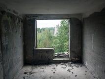 Penetraciones en la instalación militar Fotos de archivo libres de regalías