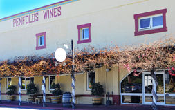 Penfolds Wines Estate wine sales and tasting building Stock Images