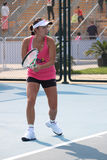 Peng Shuai (China) at the China Open 2009 Royalty Free Stock Images