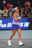 Peng Shuai (China) at the China Open 2009 Royalty Free Stock Photo