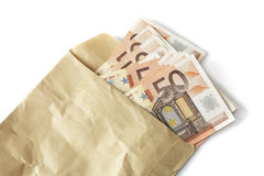 pengaröverrrakning Arkivfoton