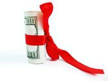 Pengar är bästa gåva Arkivfoton
