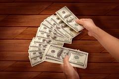 Pengar är det största incitamentet Royaltyfri Fotografi
