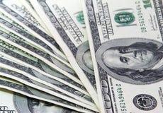 pengar 100 Arkivbild