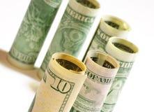 Pengar Arkivfoton