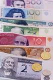 pengar Arkivbilder