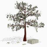 pengar vektor illustrationer
