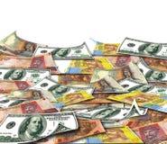 Pengar av olika länder Fotografering för Bildbyråer