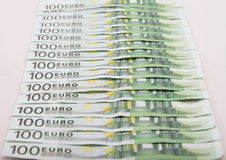 Pengar - Euro Royaltyfria Foton