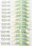 Pengar - Euro Royaltyfri Fotografi