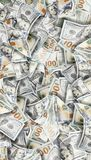 pengar för bakgrundsdollar mycket Högt detaljerad bild av amerikanska pengar arkivbilder