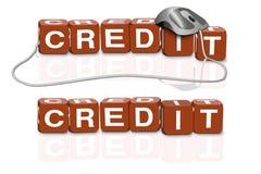 pengar för direkt lån för kreditering online Royaltyfri Fotografi
