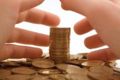 pengar för girighet 2 till Royaltyfri Bild