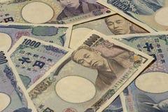 Pengar 14 för japansk yen royaltyfri foto