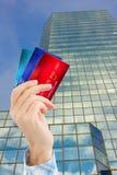 Pengar för nytt hem- begrepp fotografering för bildbyråer