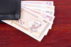 Pengar från Bosnien och Hercegovina i den svarta plånboken