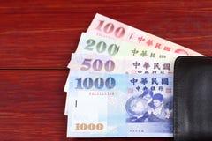 Pengar från Taiwan i den svarta plånboken