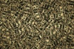 Pengar - hundratals och femtiotalbakgrund Arkivbild