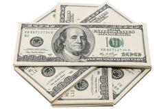 Pengar i USA Arkivbilder