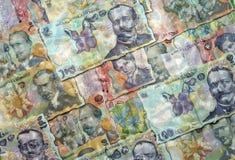 Pengar i vatten royaltyfria bilder
