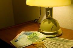 pengar könsbestämmer Royaltyfria Bilder