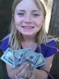pengar mer Fotografering för Bildbyråer
