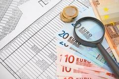 Pengar och finans. Fotografering för Bildbyråer