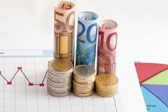 Pengar och finansiell kapacitet Royaltyfri Foto