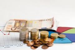 Pengar och finansiell kapacitet Fotografering för Bildbyråer