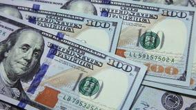 Pengar på tabellen lager videofilmer