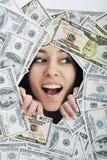 Pengar pengar, pengar…, royaltyfria foton