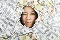 Pengar pengar, pengar…, royaltyfri bild