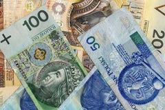 Pengar - rikedom Arkivfoto