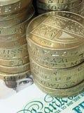 pengar uk Royaltyfri Bild