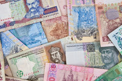 pengar ukraine royaltyfri bild